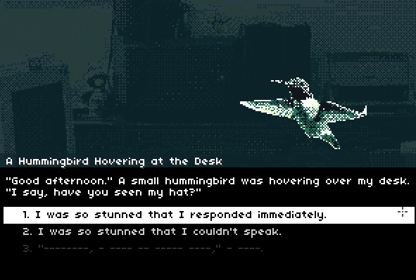 Screenshot of Hummingbird Mind